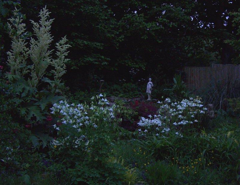 Autumn Cottage Diarist In The Night Garden