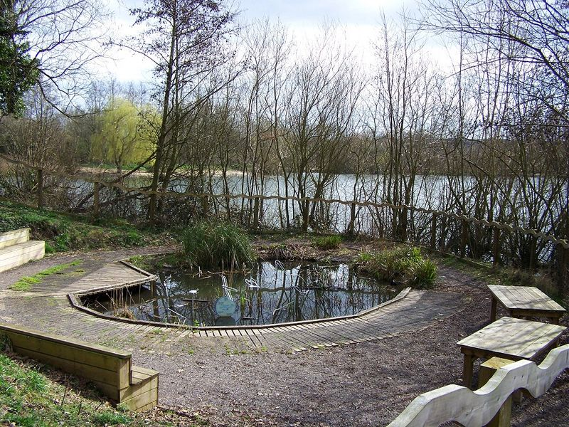 Dipping pond