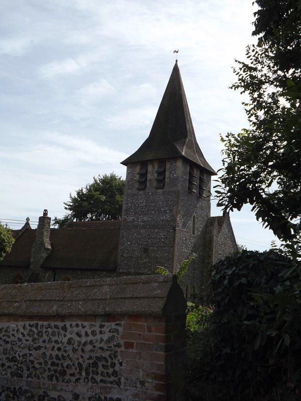 Longstock church