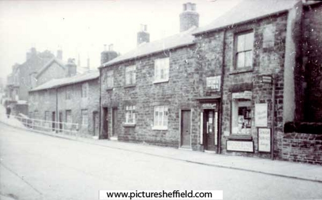 Rustlings Place Sheffield approx 1945