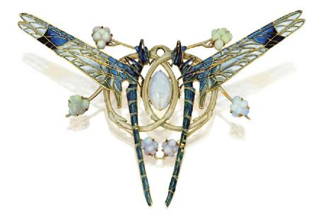Dragonflies-brooch