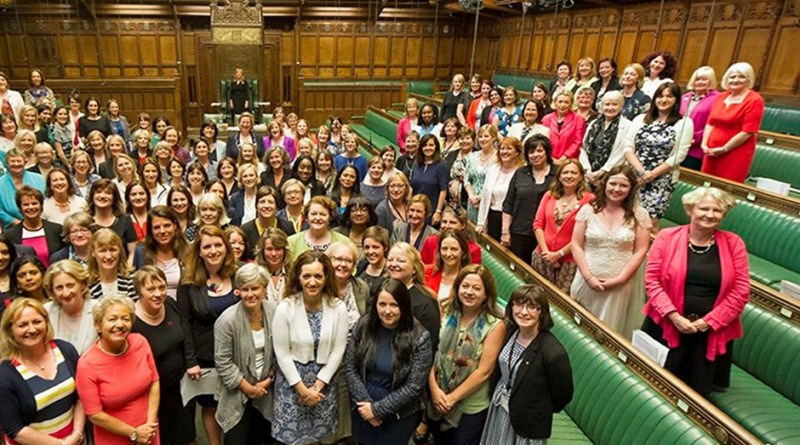 Women-Members-of-Parliament-Stand-Together-