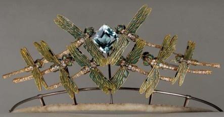 Laliquedragonflytiara